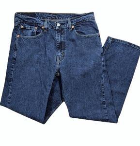 Levi's jeans 505 straight mid rise W 32 L 30